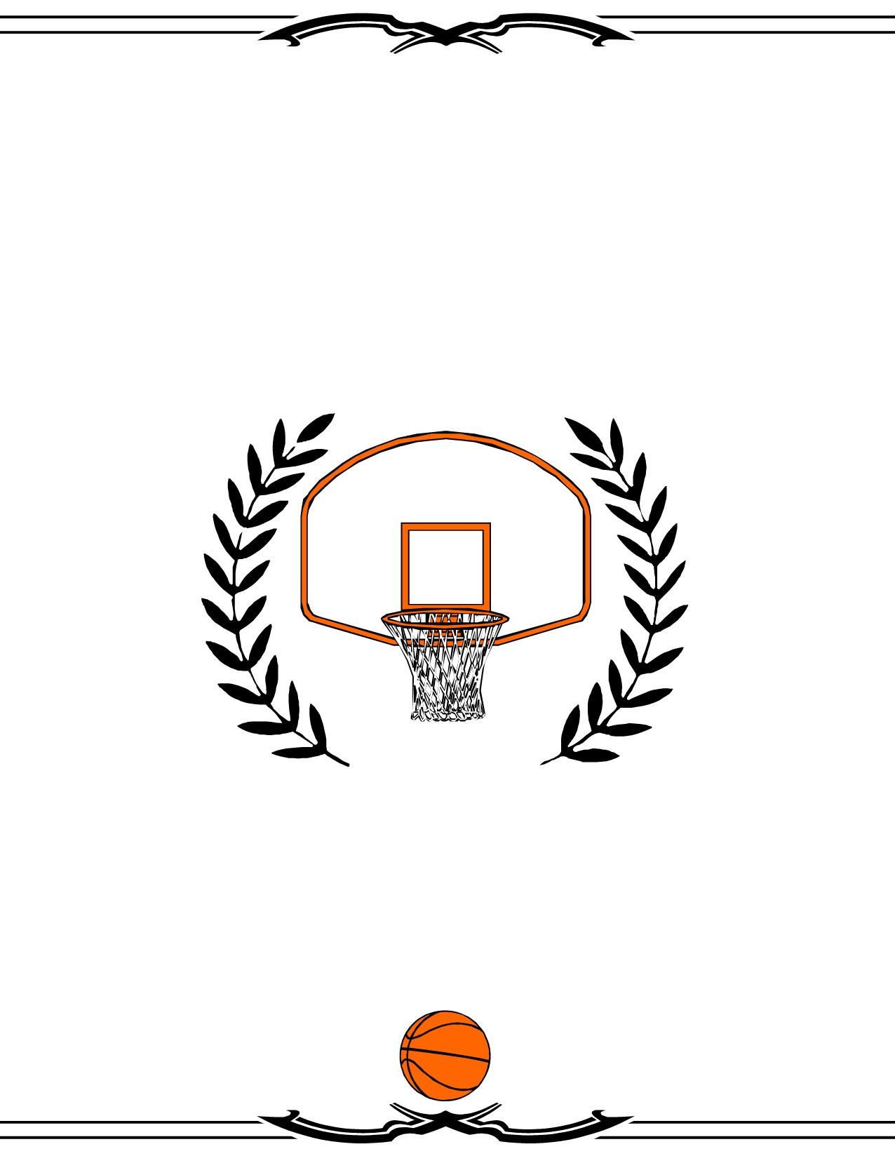 Basketball Award Certificate Maker