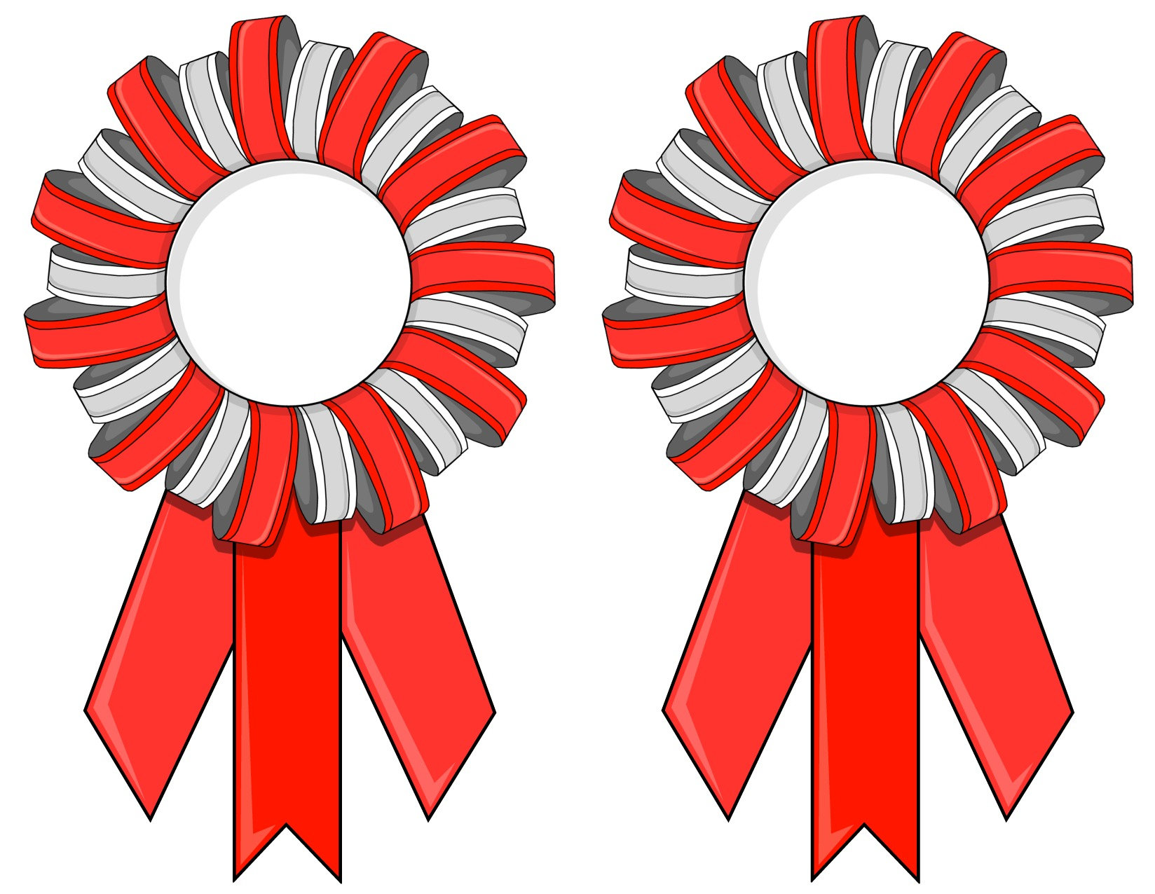 photograph relating to Printable Ribbon known as Printable Contest Ribbons or Match Ribbons