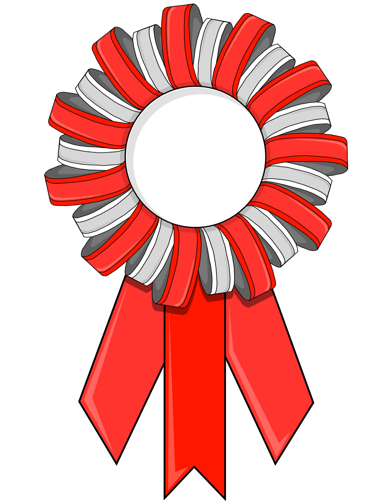 photo about Printable Ribbon named Printable Contest Ribbons or Match Ribbons