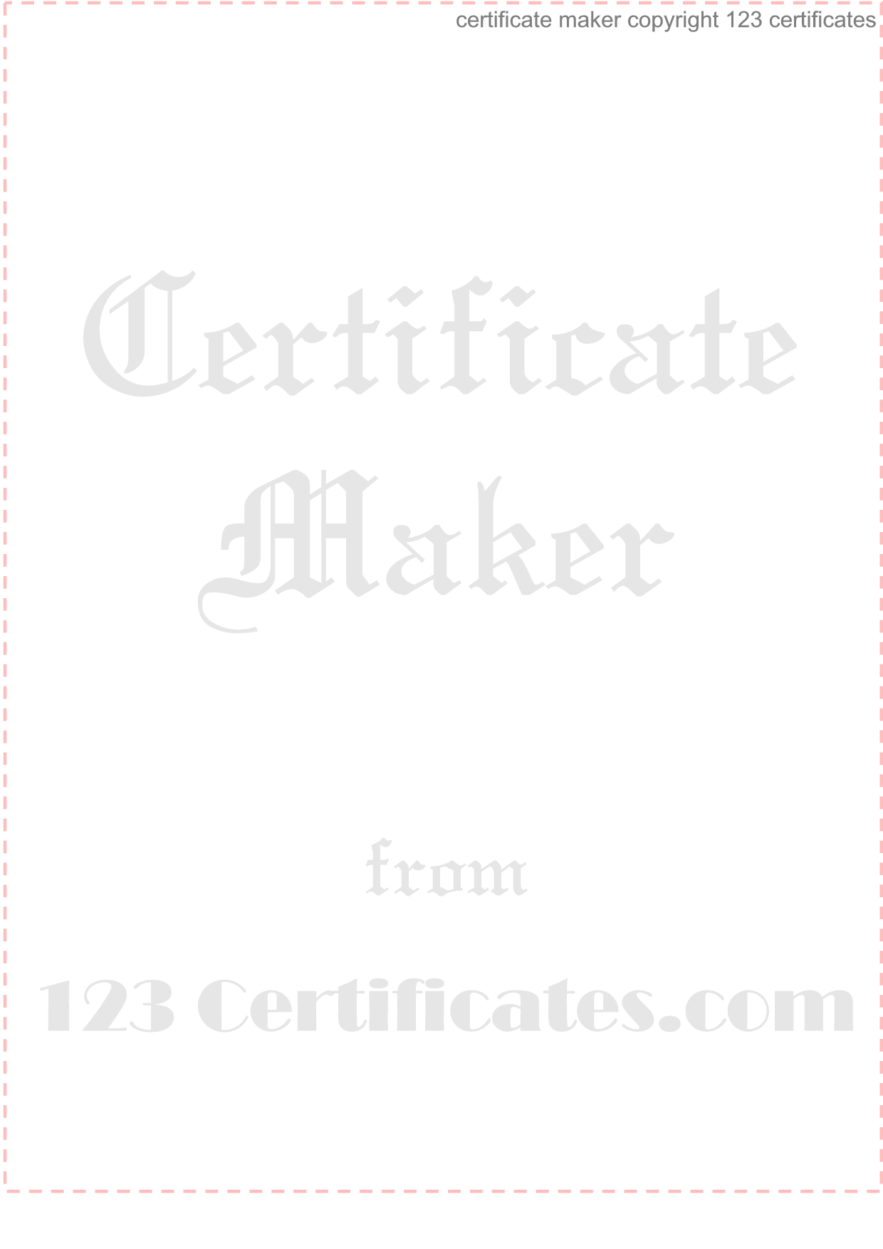 award certificate maker print personalized awards